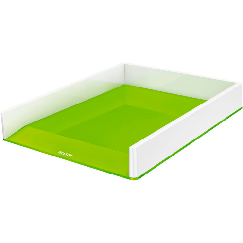 """LEITZ Briefkorb """"WOW"""", zweifarbig (weiss/grün)"""
