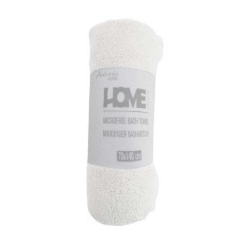 """ANTONIO Microfaser Handtuch-Set 10tlg. """"Home Love"""" (weiss)"""