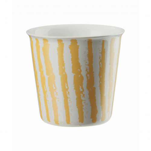 "ASA  Becher ""Lungo"" Coppetta , 250 ml (yellow stripes)"